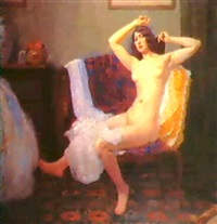 modele a sa toilette by h. marchal