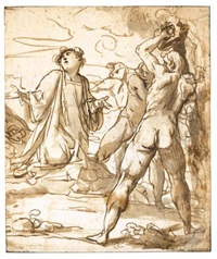 the stoning of st. stephen by cavaliere giovanni baglione