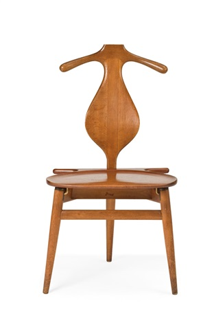 valet or bachelors chair model jh 540 by hans j wegner