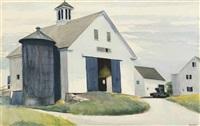 barn at essex by edward hopper