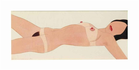 open ended nude 112 by tom wesselmann
