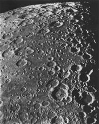 photographie lunaire. boussingault - vlacq - maurolycus by pierre puiseux