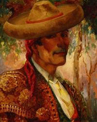 spanish matador by oscar theodore jackman