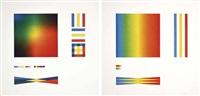 senza titolo (2 works) by getulio alviani