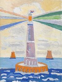 vuurtoren (lighthouse) by max reneman