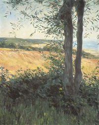 bord de mer, normandie by gustave caillebotte