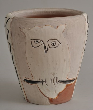 Face And Owl Vase By Pablo Picasso On Artnet