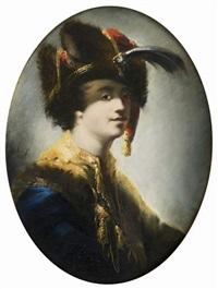 portrait d'un oriental by matthäus loder
