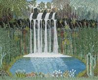 waterfall by henri bastin