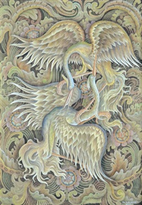 bangau surgawi by i dewa ketut rungun