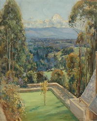view at olinda by george garden colville