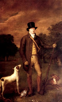 portrait of henry hoste henley by thomas arrowsmith