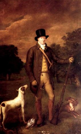 portrait of henry hoste henley by thomas arrowsmith