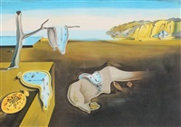 the persistance of time by salvador dalí