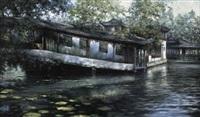 summer garden by li zhongliang