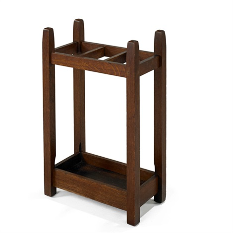 umbrella stand 55 by gustav stickley