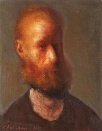 autoportret by corneliu antonescu