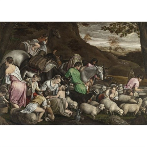jacobs journey by jacopo dal ponte and francesco bassano