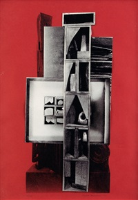 the drum by louise nevelson