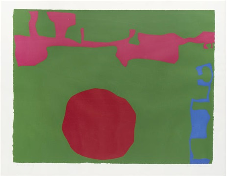 plate 11 from january by patrick heron