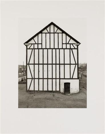 fachwerkhäuser giebelseiten 12 works by bernd and hilla becher