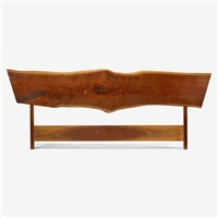king-size plank headboard by george nakashima