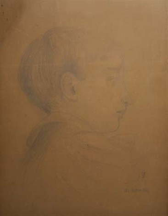 portrait de michel chausson fils dernest chausson by maurice denis