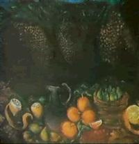 nature morte aux oranges, raisins citrons by ketty balletti notarbartolo di sciara