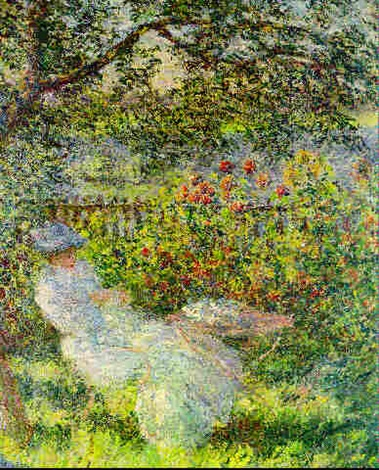 Alice hoschede au jardin by claude monet on artnet for Au jardin d alice