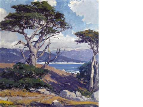 the sentinel monterey coast by arthur hill gilbert