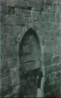 jerusalem, architectural study by henri sauvaire