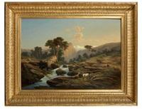 paysage de montagne by heiner baumgärtner