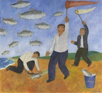 la chasse aux poissons by andrei karpov