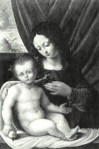 the madonna and child by giovanni agostino da lodi