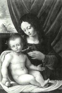 the madonna and child by giovanni agostino da lodi