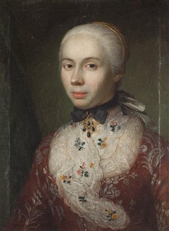 ritratto di dama by pietro antonio rotari