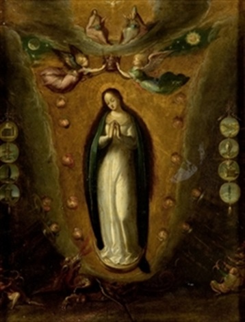 inmaculada tota pulchra by frans francken the younger