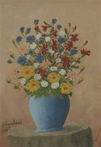 vase de fleurs by andré bauchant
