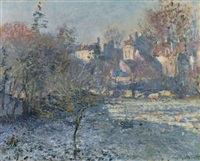 le givre by claude monet