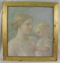 mother and child by robert reid
