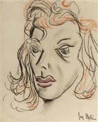 portrait of a woman by joy hester