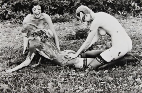 sans titre from revenge by ellen von unwerth