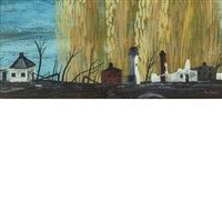 scorched earth by ben shahn