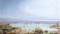 a panoramic view of venice by british school (19)