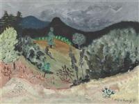 vermont landscape by milton avery