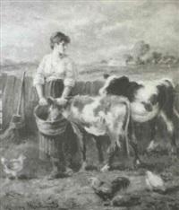 calf's love by murray william macdonald