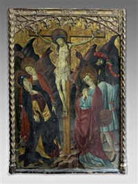 la crucifixion by blasco de grañén