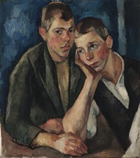 two boys by aage storstein