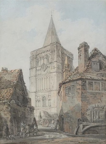st marys church dover by joseph mallord william turner