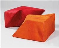 z-play seating elements (in 2 parts) by zaha hadid